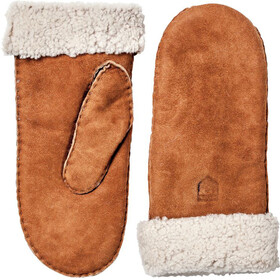 Hestra Sheepskin Guanti Donna marrone